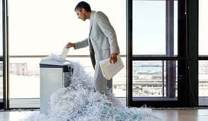 Paper Shredding in the Law Office