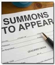 Summons to Appear