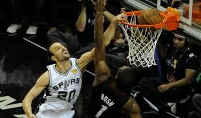 Manu Ginobili Monster Jam During NBA Finals