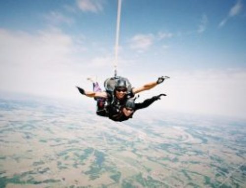 Steve's First Skydive